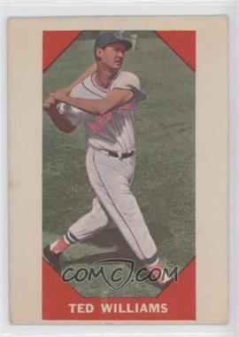 1960 Fleer #72 - Ted Williams