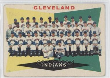 1960 Topps - [Base] #174 - Cleveland Indians Team [Good to VG‑EX]