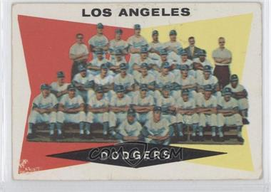 1960 Topps - [Base] #18 - Los Angeles Dodgers Team