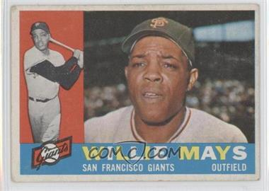 1960 Topps - [Base] #200 - Willie Mays [Good to VG‑EX]