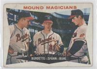 Mound Magicians (Lou Burdette, Warren Spahn, Bob Buhl) [Poor]