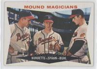 Mound Magicians (Lou Burdette, Warren Spahn, Bob Buhl)