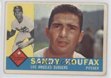 1960 Topps - [Base] #343 - Sandy Koufax [GoodtoVG‑EX]