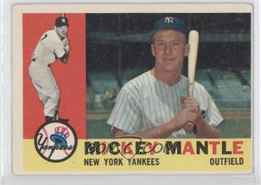 1960 Topps - [Base] #350 - Mickey Mantle