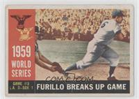 World Series Game #3: Furillo Breaks Up Game (Carl Furillo) (White Back) [Good&…