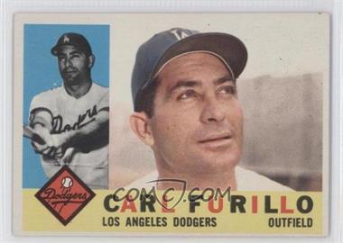 1960 Topps - [Base] #408.1 - Carl Furillo (White Back)