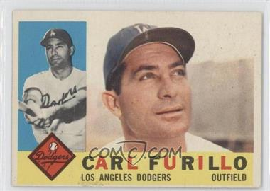 1960 Topps - [Base] #408.2 - Carl Furillo (Gray Back)