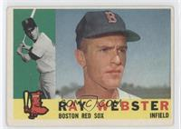Ray Webster [GoodtoVG‑EX]