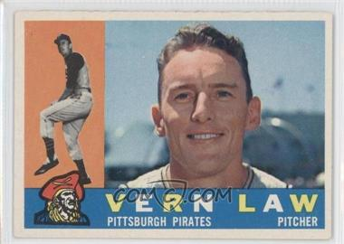 1960 Topps - [Base] #453 - Vern Law