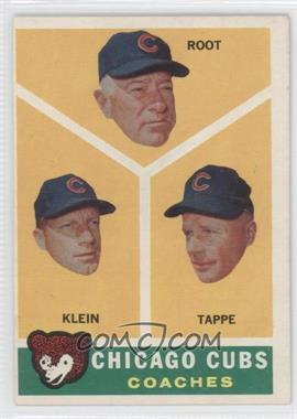 1960 Topps - [Base] #457 - Lou Klein, Charley Root, El Tappe