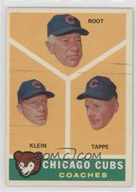 1960 Topps - [Base] #457 - Lou Klein, Charley Root, El Tappe [Good to VG‑EX]