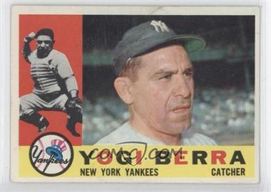 1960 Topps - [Base] #480 - Yogi Berra