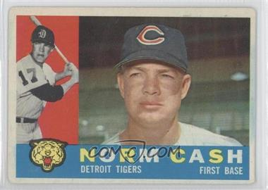 1960 Topps - [Base] #488 - Norm Cash