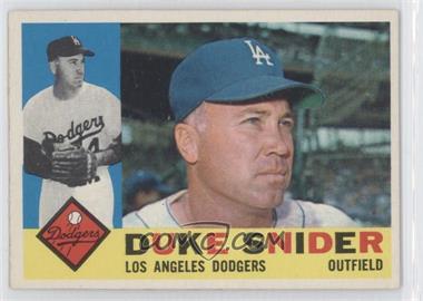 1960 Topps - [Base] #493 - Duke Snider