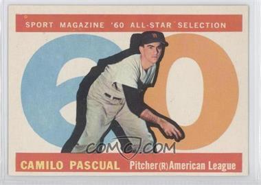 1960 Topps - [Base] #569 - Camilo Pascual