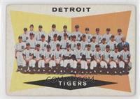 Checklist, Detroit Tigers Team [GoodtoVG‑EX]