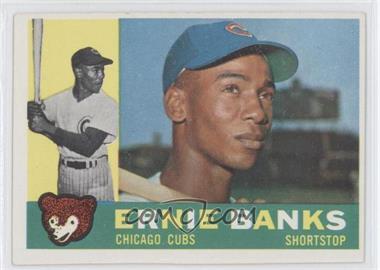 1960 Topps #10 - Ernie Banks