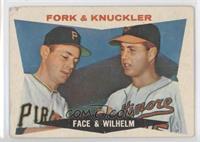 Fork & Knuckler (Roy Face, Hoyt Wilhelm) [Poor]
