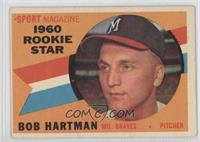 Sport Magazine 1960 Rookie Star (Bob Hartman) [Good to VG‑EX]