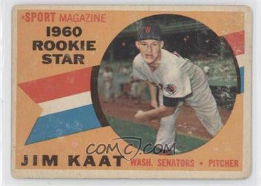1960 Topps #136 - Jim Kaat