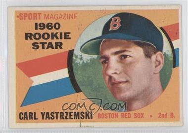 1960 Topps #148 - Carl Yastrzemski