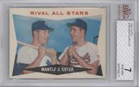 Rival All-Stars (Mickey Mantle, Ken Boyer) [BVG 7]