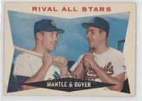 Rival All-Stars (Mickey Mantle, Ken Boyer) [PoortoFair]