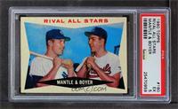Rival All-Stars (Mickey Mantle, Ken Boyer) [PSA5]