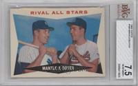 Rival All-Stars (Mickey Mantle, Ken Boyer) [BVG 7.5]
