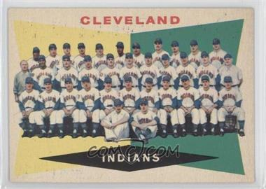1960 Topps #174 - Cleveland Indians Team