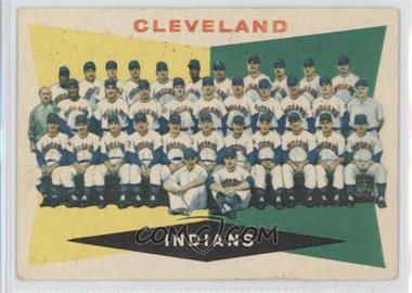 1960 Topps #174 - Cleveland Indians Team [Good to VG‑EX]