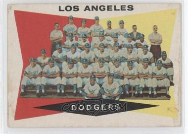 1960 Topps #18 - Los Angeles Dodgers Team