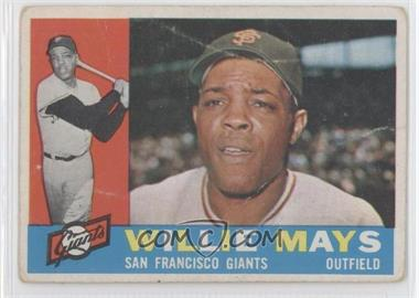 1960 Topps #200 - Willie Mays