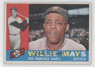 1960 Topps #200 - Willie Mays [Good to VG‑EX]