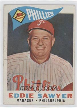 1960 Topps #226 - Eddie Sawyer [Good to VG‑EX]