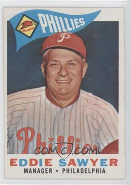 1960 Topps #226 - Eddie Sawyer
