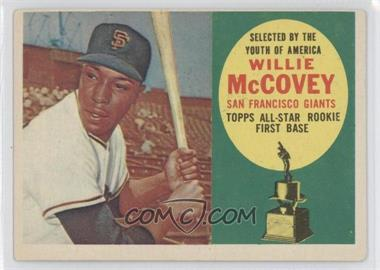 1960 Topps #316 - Willie McCovey