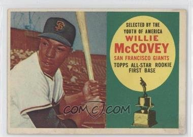 1960 Topps #316 - Willie McCovey [Good to VG‑EX]