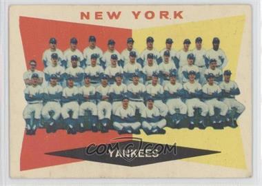 1960 Topps #332 - New York Yankees