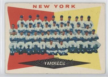 1960 Topps #332 - New York Yankees