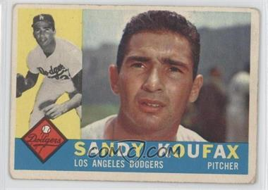 1960 Topps #343 - Sandy Koufax [GoodtoVG‑EX]