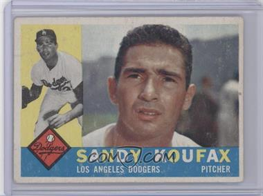 1960 Topps #343 - Sandy Koufax [Good to VG‑EX]