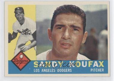 1960 Topps #343 - Sandy Koufax