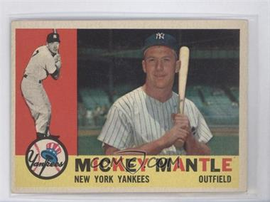 1960 Topps #350 - Mickey Mantle