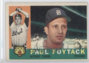 1960 Topps #364 - Paul Foytack