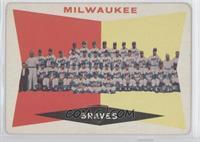 Milwaukee Braves Team (White Back) [GoodtoVG‑EX]