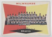 Milwaukee Brewers Team (5th Series Checklist) (White Back)