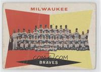 Milwaukee Brewers Team (5th Series Checklist) (White Back) [Good to V…