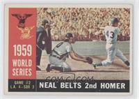1959 World Series: Neal Belts 2nd Homer (Charlie Neal) [GoodtoVG&#8…