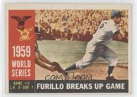 World Series Game #3: Furillo Breaks Up Game (Carl Furillo) (Gray Back)